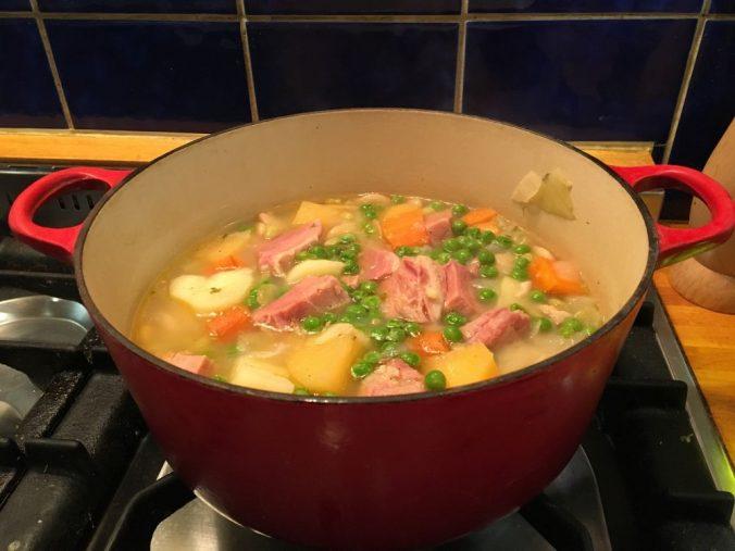 Gammon casserole
