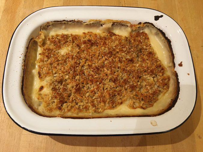 Crumble Top Fish Pie